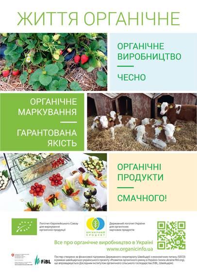 Органічне виробництво та органічні продукти харчування: від поля до магазину