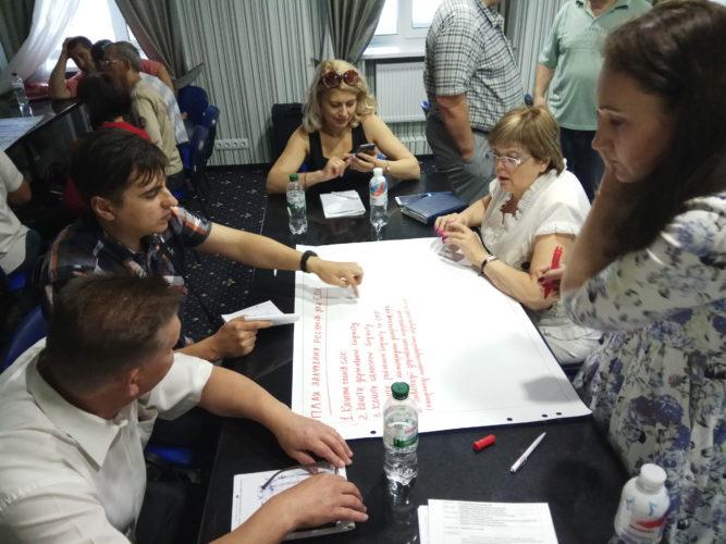 Розвиток сільськогосподарських обслуговуючих кооперативів та груп виробників