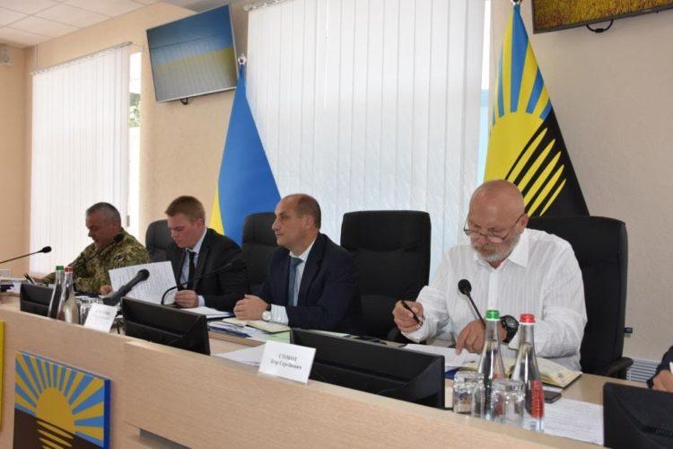 Департамент доповів на колегії Донецької облдержадміністрації про підсумки збирання врожаю та організацію проведення осіннього комплексу польових робіт у 2018 році