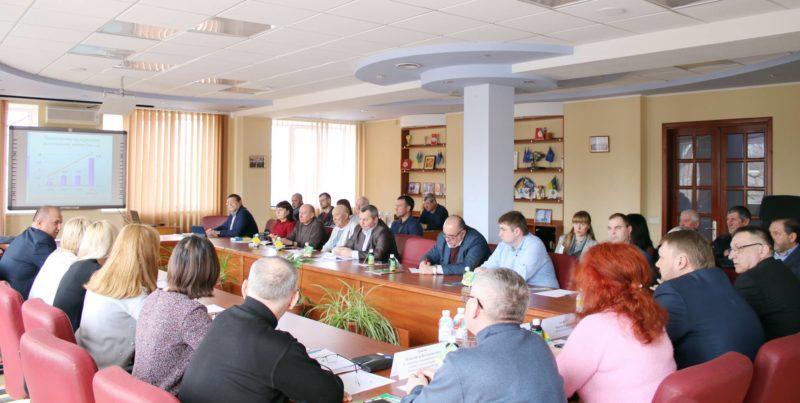 Засідання комітету з розвитку агропромислового комплексу та природокористування Донецької торгово-промислової палати