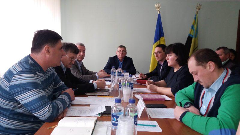 Круглий стіл на тему: «Розвиток меліорації земель та водного господарства на території Донецької області»